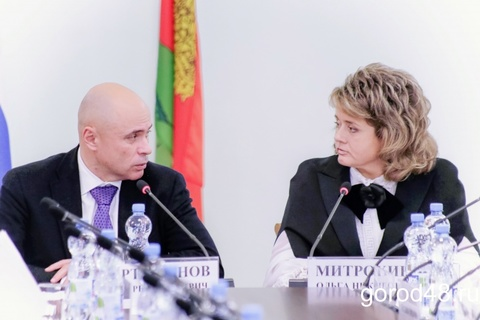 Встреча Союза промышленников Липецкой области и ВРИО главы администрации