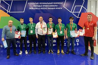 V Региональный чемпионат Молодые профессионалы закрыт